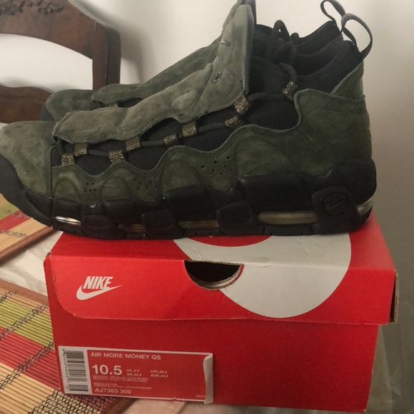 Nike Other - Nike Air More Money Size 10.5